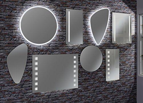 FACKELMANN LED Spiegel rund Ø 80 cm MirrorsWandspiegel mit