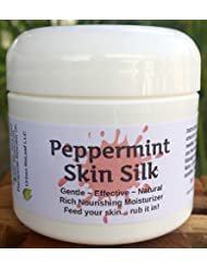 PEPPERMINT SKIN SILK! Smells like Christmas! Shea Butter moisturizer. 100% Natural, Amazing Scent! Smooth cream, glides on. Concentrated waterless lotion!