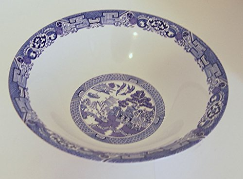 Royal Cuthbertson Blue Willow Round Vegetable Serving Bowl 9 (Cuthbertson Blue Willow)