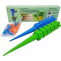 Kit Com 12 Gotejador Irrigador Acoplável Garrafa Pet Plantas Vaso Jardinagem Irrigação Por Gotejamento