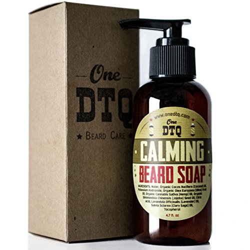 OneDTQ Calming Beard Mustache Soap product image