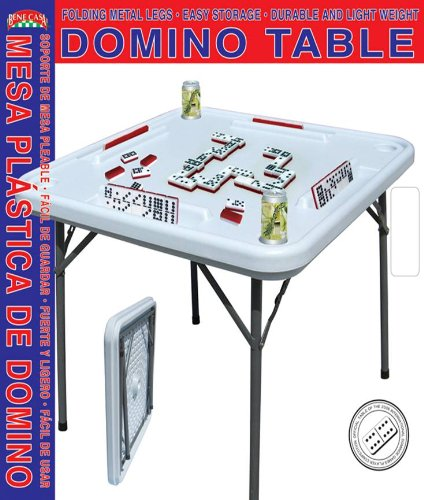 Bene Casa Blow Mold Domino Game Table (Card 38 Table)
