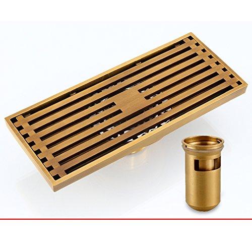 Rectangular floor drain Full copper deodorant