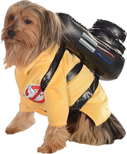 Ghostbusters Movie Pet Costume Large  Ghostbuster Jumpsuit (Large Image)