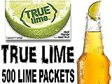 True Lime Bulk Pack, 500 Count with 5 FREE True Lemon Variety Lemonade Sample Sticks
