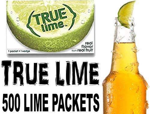 Lime Flavor - True Lime Bulk Pack, 500 Count with 5 FREE True Lemon Variety Lemonade Sample Sticks
