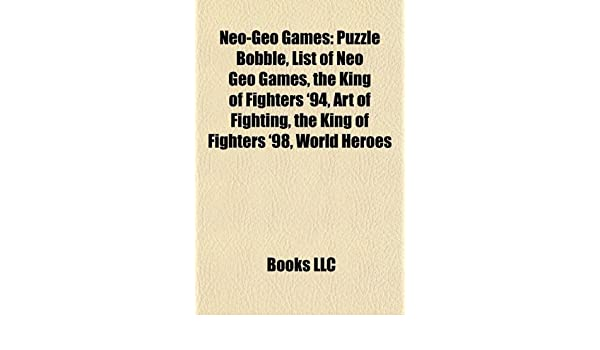 Neo-Geo games: Puzzle Bobble, List of Neo Geo games, The ...