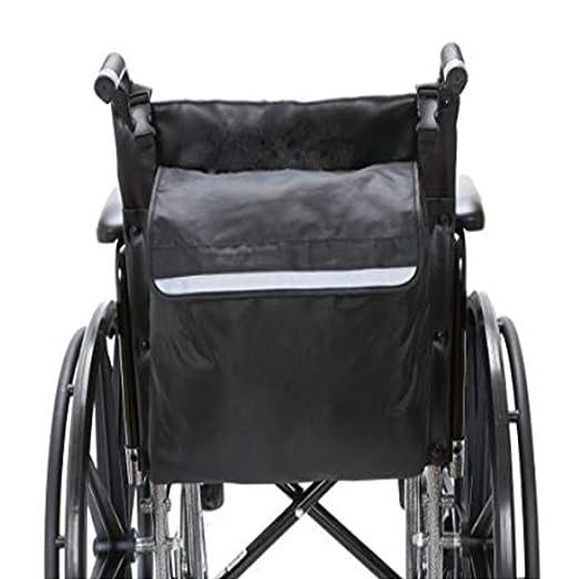 Mochila para silla de ruedas, paquete de accesorios para sus dispositivos de movilidad Se adapta a la mayoría de los scooters, andadores, sillas de ruedas ...