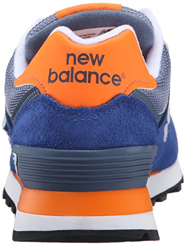 New Donna navy orange Multicolore Running Scarpe 574 Balance 417 rfqIr