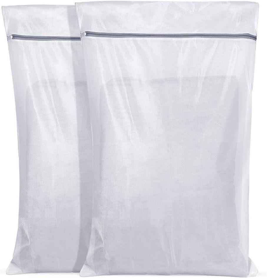4 Stück XXL Wäschesack 61x91cm Wäsche bis 3Kg Wäschenetze Wäsche Sack Netze