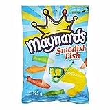Maynards Swedish Fish Candy, 185 Grams