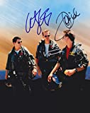 Top Gun (Tom Cruise, val Kilmer & Anthony Edwards) signed 8x10 photo