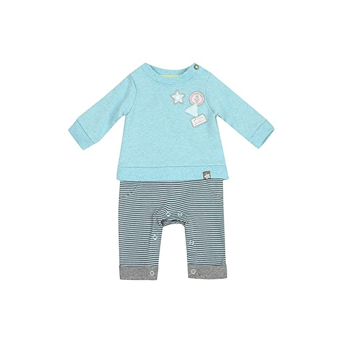 Baby Boys Clothing Set (QD551-1_Multicoloured_0-3 M)