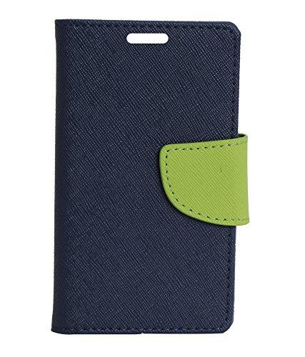 buy online f1ea6 c7623 Flip Cover For Motorola Moto G Turbo Edition - Blue: Amazon.in ...