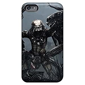 Fashionable mobile phone carrying covers Protective Beautiful Piece Of Nature Cases Proof iphone 6plus 6p - aliens vs predator game