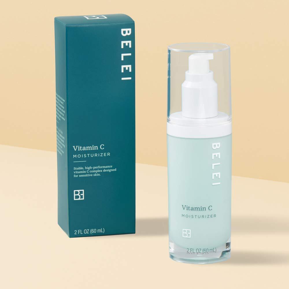 Belei Vitamin C Moisturizer, Fragrance Free, Paraben Free, 2 Fluid Ounce (60 mL)