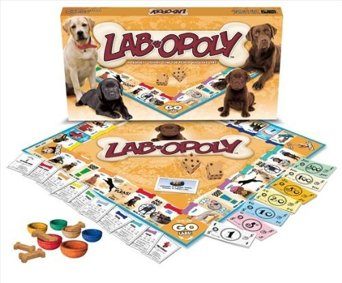 Lab-opoly (Dog Monopoly Board Game)