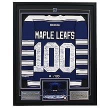 Toronto Maple Leafs Centennial 100 Player Signed 33x40 Framed Jersey #/100