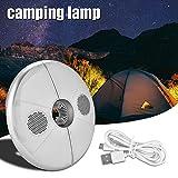 T-best LED Umbrella Light Bluetooth Speaker Multicolor Rechargeable Wireless Speaker Umbrella Lamp Night Light Outdoor Camping, Desktop, Bedside, Atmosphere Decor
