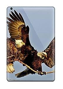 New Fashion Premium Tpu Case Cover For Ipad Mini/mini 2 - Eagle Landing Wallpaper