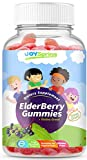 Sambucus Elderberry Gummies for Kids – Vitamin C Immune System Booster – Tasty Triple Action Gummy Bears with Echinacea and Propolis – Mom Made, Toddler Approved