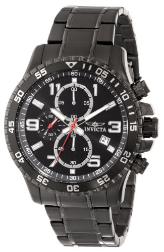 Invicta Men's 16933 Specialty Chronograph Gunmetal Stainless Steel Watch