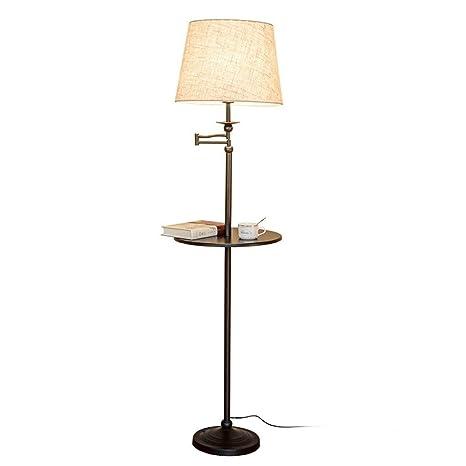 Lámparas de Pie Prime Almacenamiento de estilo americano Mesa de ...