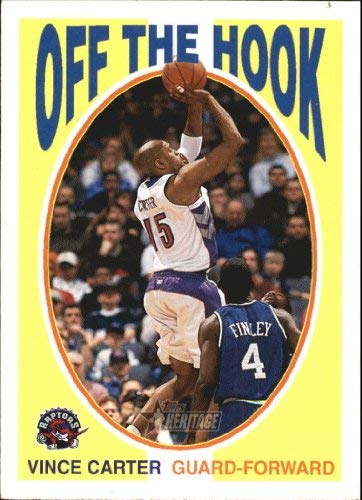 2000-01 Topps Heritage Off the Hook #OH2 Vince Carter NBA Basketball Trading Card ()