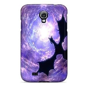 UigRuGH1930yNKHH Case Cover, Fashionable Galaxy S4 Case - Dragon Flying