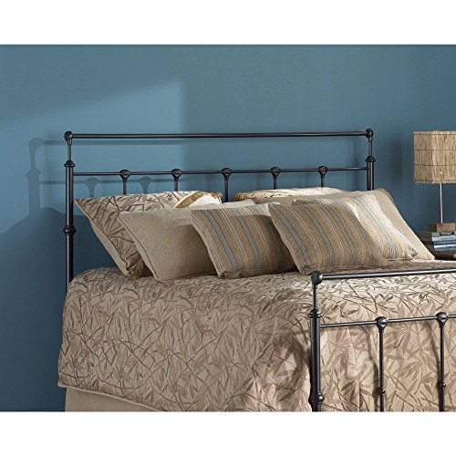 - Mahogany Gold Headboard King Size, Traditional Style, Metal Construction, Bedding, Made from Metal, Bedroom Furniture, Bundle with Our Expert Guide with Tips for Home Arrangement