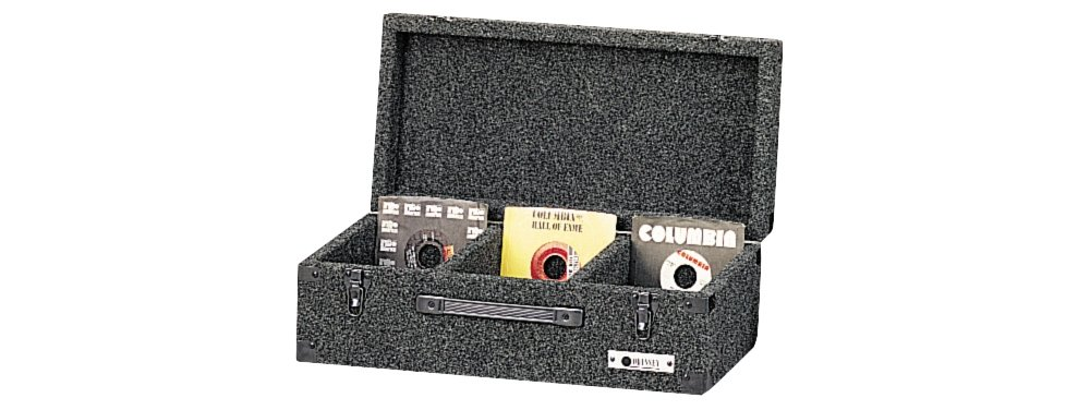 Odyssey C45200 Carpeted Case For 45 Rpm Vinyl Records (200) With Surface Mount Hardware Odyssey Innovative Designs