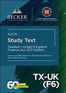 Acca f6 taxation fa2017 study text amazon bpp learning acca approved taxation united kingdom tx uk f6 fandeluxe Choice Image