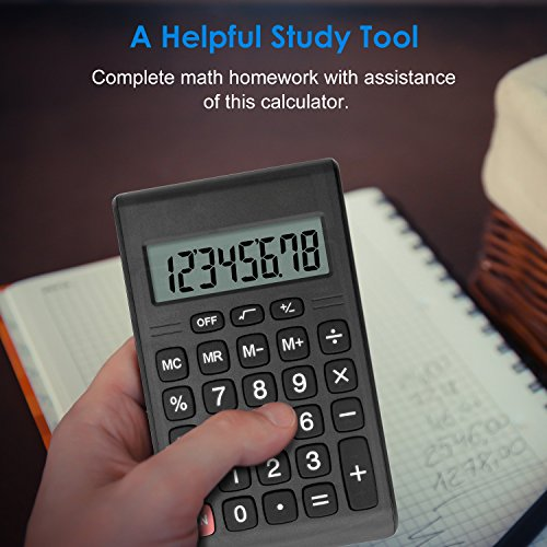 Calculator, Helect Compact Design Standard Function Handheld Portable Calculator - H1007 Photo #6