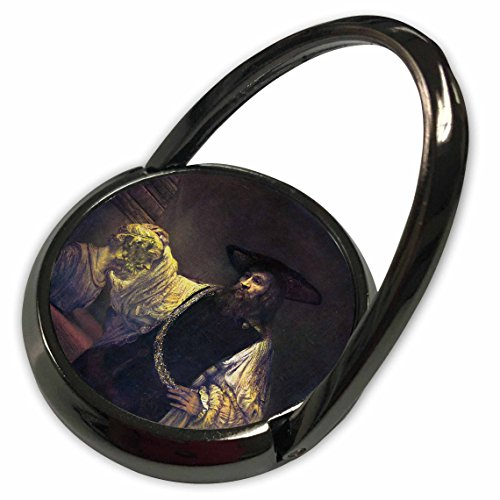 3dRose BLN Assorted Works Of Fine Art Collection - Aristotle Contemplating the Bust of Homer by Rembrandt - Phone Ring (phr_130175_1) -