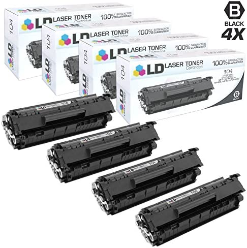 LD Compatible Cartridge Replacement 4 Pack product image