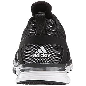 adidas Performance Men's Speed Trainer 2 Training Shoe, Black/White/Carbon Metallic, 10 M US