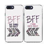 iPhone7 Plus Case-TTOTT 2X Cases Floral Best Friend - Best Reviews Guide