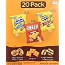 Keebler Cookies and Cheez-It Crackers Snack Packs Variety Pack, 20 Count (Packaging May Vary)