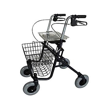 Invacare Banjo - Andador, con 4 ruedas: Amazon.es: Salud y cuidado ...