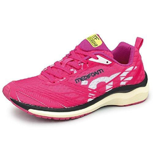 ワークショップバンケットコンドームランニングシューズ レディース アキレス メディフォーム MEDI FOAM ジョギング マラソン 女性用 ACHILLES SORBO ソルボ 靴/MFR1000-