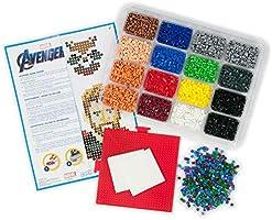 Perler Beads Marvel Avengers Pattern and Fuse Bead Kit