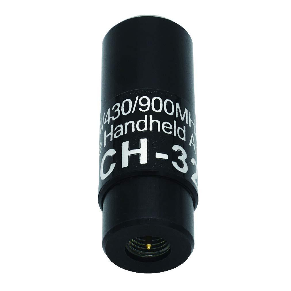 SMA 0.51 inch SCH-32 1.3cm 144//440//900MHz 2M//70cm//33cm Tri-Band Miracle Baby Handheld Antenna