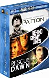 The Dirty Dozen Blu Ray War Hero Collection (Behind Enemy Lines / Patton / Rescue Dawn & Stalag 17 Pack Military Movie Action Next Mission Set