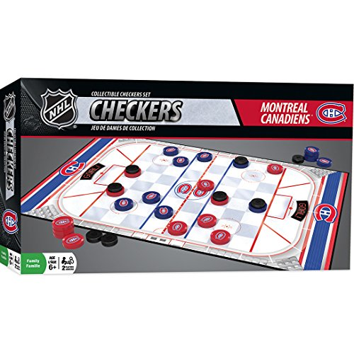 MasterPieces NHL Montreal Canadiens Checkers Board Game