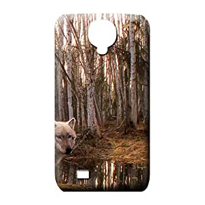 samsung galaxy s4 mobile phone carrying shells Pretty Abstact Protective Cases wolf the predator