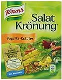 Knorr Salat Kronung Paprika-Krauter (Salad Herbs with Paprika), 5 Count Packet