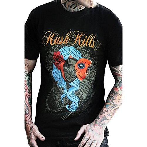 Mens-Kush-Kills-Beauty-Lies-Within-T-Shirt