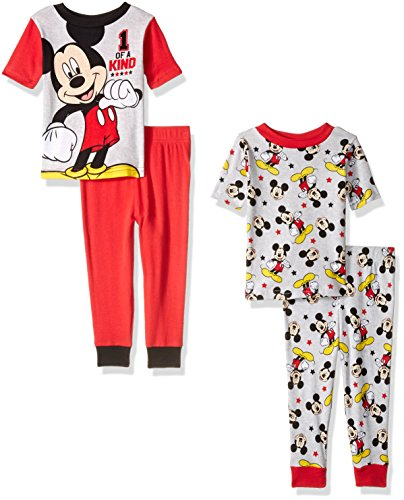 Disney Toddler Mickey 4 Piece Cotton