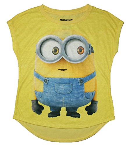 "Minions Movie ""Hey Bob"" Girls Graphic T Shirt"