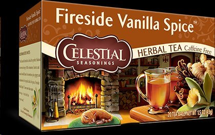 Celestial Seasonings Fireside Vanilla Spice Tea, 20 Tea Bags